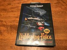 Lightening Force: Quest for the Darkstar (Sega Genesis, 1992) Near Complete Rare