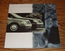 Original 1994 Mercedes-Benz S-Class Deluxe Sales Brochure 94