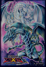 (100)Yu-Gi-Oh! Blue-Eyes White Dragon Card Sleeves 100 Pieces 63*90mm