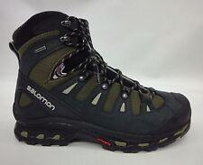 Salomon Mens Quest 4D 2 GTX Boots 373259 Iguana Green/Asphalt/Dark Titanium 13