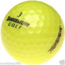 24 AAA Bridgestone Tour B330-RX YELLOW Used Golf Balls (3A)