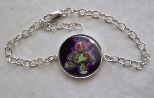 925 Sterling Silver Bracelet Voodoo Doll
