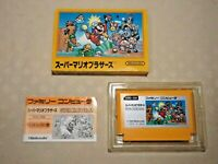 Super Mario bros 1 fc Famicom NES Japanese Nintendo video game box tested Japan