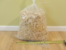 Giant 20 lbs / 8,000 SCRABBLE TILES parts wood pieces Countertop, Wall, Crafts