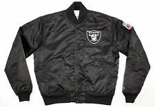 Vintage Oakland Raiders Starter Satin Jacket Men Medium NWA LA Hip Hop Throwback