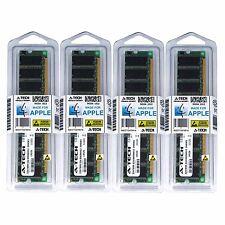 2GB KIT 4X 512MB DESKTOP PC2100 Apple iMac G4 Power Mac G4 Xserve G4 MEMORY RAM