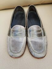 6eee4a1da63 COLE HAAN Men s Gray Suede Pinch Penny Loafers Slip-On Size 10D MSRP  149