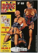 BD adultes  Bédé X N°69, Recueil des numéros 124 - 125 Centre audiovisuel de pro