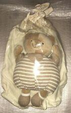 Peluche Doudou Nounours Ourson dans son sac