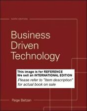 Business Driven Technology by Paige Baltzan (2014)Int Ed PaperBack