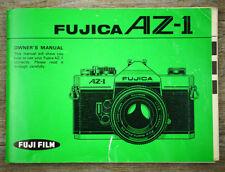 FUJI FUJIFILM Kamera Bedienungsanleitung FUJICA AZ-1 * Manual * Anleitung (X5054