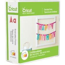 Cricut Cartridge - Everyday Fonts - 7 Alphabets, Numbers & Characters