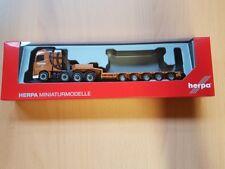 "Herpa 309523 - 1/87 Volvo FH GL Semitieflade-Sattelzug ""Rensink"" (NL) - Neu"