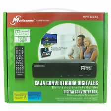 Mediasonic HomeWorx HW130STB HDTV Digital Converter Box & Recording HDMI output