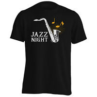 Jazz Night Saxophone Men's T-Shirt/Tank Top w669m