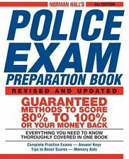 Norman Hall's Police Exam Preparation Book, Norman Hall, Acceptable Book