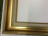 Ornate Wide Antique Gold  Picture /Mirror Frame 12 x 16  or 14 x 18