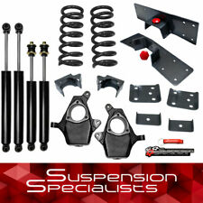 "4""-6"" Drop Lowering Kit with Shocks For 1999-2006 Chevy Silverado 1500 V6 2WD"