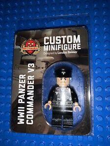 LEGO Brickmania Brand New German Panzer Commander V3