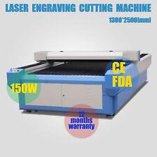 150W CO2 Laser Tube Laser Engraver Cutting Machine Laser cutter 1300* 2500mm CE