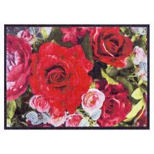 Paillasson fleurs LAVABLE 50x70 Paillasson Paillasson autruche Tapis de sol gris