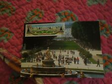 CAR POST LES JARDINS DE VERSAILLE, hommage à LE NOTRE timbre 1er jour 12/5/2001