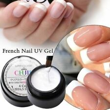 10ML UV Gel Varnish French Nails White Nail Polish Gel For Manicure Gellak Semi