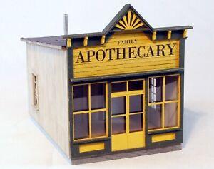 Berkshire Valley Models HO/HOn3, 1/87 Apothecary False Front kit - #2030