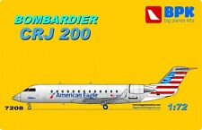 Bombardier CRJ 200 American Eagle   1/72  BPK # 7208