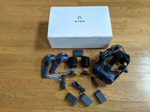 HTC Vive Pro Eye Office VR Headset with Eye Tracking - Blue