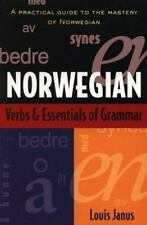Norwegian Verbs and Essentials of Grammar (Paperback or Softback)