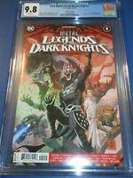 Death Metal Legends of the Dark Knights #1 2nd print CGC 9.8 1st Robin King