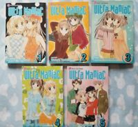 ULTRA MANIAC TP VOL 1,2,3,4,5  (Manga) (Books) NEW 9781591169178