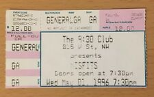 1996 The Misfits 9:30 Club Washington D.C. Concert Ticket Stub Jerry Only Chud