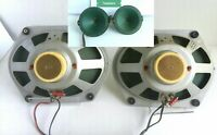 SABA 24cm AlNiCo FullRange Greencone Speaker Set 5 ohm + 2 Tweeters = 4 speakers