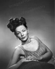 8x10 Print Gene Tierney Fashion Portrait by Jack Albin 1942 #GTJA