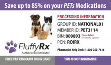 Fluffy RX Pet Prescription Savings Accepted at Major  Pharmacies  Nationwide USA