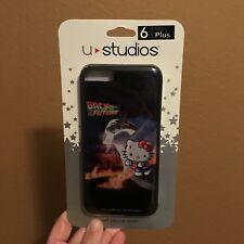 Universal Studios Hello Kitty Back To The Future CASE Fits 6s Plus,7 Plus,8 Plus