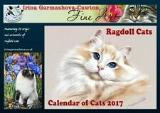 Ragdoll Cat Calendar 2017 from originals by Irina Garmashova