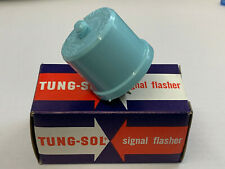 1967-73 MUSTANG SHELBY COUGAR 224 FLASHER TUNG-SOL NOS BLUE PLASTIC NO DOT LOGO