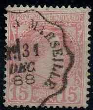 TIMBRE MONACO 1885 n°5 ! Oblitéré