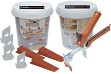 Raimondi Leveling System STARTER KIT -100 wedges,100 Regular clips, floor pliers