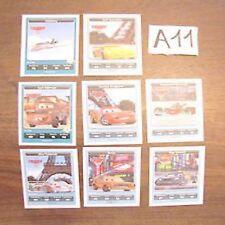 8 Figurine Esselunga Disney Pixar Cars2 Cars 2 rare A11