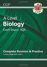 New A-Level Biology: AQA Year 1 & 2 Complete Revision & Practice with Online E,