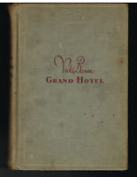 Grand Hotel by Vicki Baum 1931 Stated 1st Ed Vintage Book!