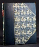 Fine Leather 1902 The Book of Job Abbey Press Friel Rockwell Kent Bookplate