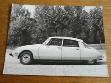 "CITROEN DS 1972  PRESS PHOTO CAR ""BROCHURE"""