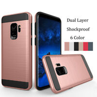 Slim Hybrid Protective Armor Case Shockproof Cover For Samsung Galaxy A8 2018