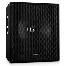 SKYTEC 46CM AKTIV SUBWOOFER PA DJ BASS REFLEX BOX 1000W