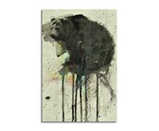 Carl Colburn Bear Keilrahmen-Bild Leinwand Bär Wildtiere